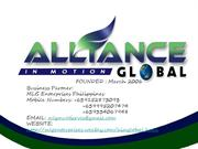 AIM GLOBAL INC. Presentation