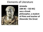 Elements of Literature Aristotle