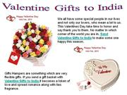 Valentine Gifts to India, Send Online Valentine Day Gifts to India