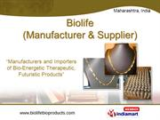 Bio Life (Manufacturer And Supplier) Maharashtra India