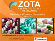 Zota Pharmaceuticals Pvt. Ltd. Tamil Nadu India