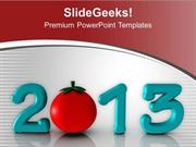 FOOD CELEBRATE THIS NEW YEAR 23 PPT TEMPLATE