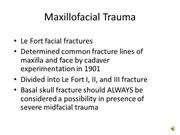 Anesthesia for Trauma dictated slides 102-133