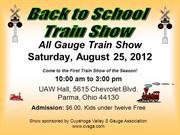 Back to School Train Show Aug  2012 s1