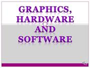 UNIT 30: TASK ONE: GRAPHICS, HARDWARE AND SOFTWARE