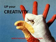 Up Your creativity