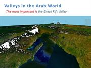 Valleys in the Arab World