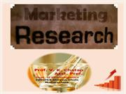 MARKETING RESEARCH BY CHATAP