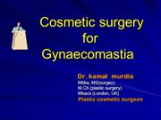dr kamal murdia -cosmetic surgery for gynaecomastia
