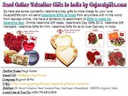 Send Online Valentine Gifts to India by Gujaratgifts.com