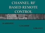 Channel RF Based Remote Control