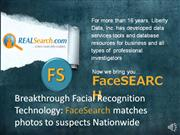 Facesearch in beta testing