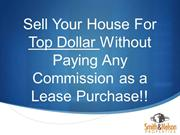 How to Sell You Home on A Lease Purchase