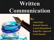 CCS-Written Communication Skills