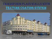 Transform Plain Walls with Texture Coating System- astecpaints.com.au
