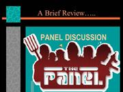 A Closer View on Classroom Simulated Panel Discussion