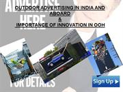 Outdoor Advertising In India & Abroad