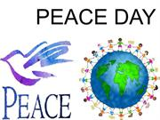 1. Peace day