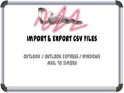 Export Import CSV Files