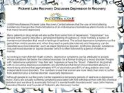 Pickerel Lake Recovery Discusses Depression In Recovery