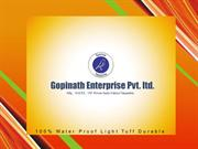 Gopinath Enterprise Pvt. Ltd. : P E Tarpaulin