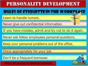 Personality Development pptx by Manilyn R. Destacamento