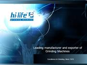 HI-LIFE MACHINE TOOLS LIMITED : external od grinding machine