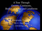 Grade 1: Tour of the Continents PowerPoint