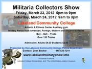 Militaria Collectors Show  March 2012 pp s1