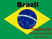 brazil ppt by krishna