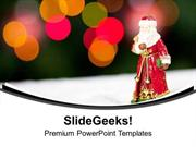 CHRISTIAN CELEBRATE CHRISTMAS WITH YOUR FAMILY PPT TEMPLATE