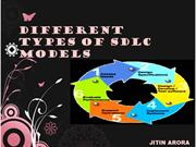 Different Types Of SDLC Models