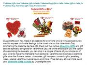 Valentine Gifts, Send Valentine Gifts to India Online