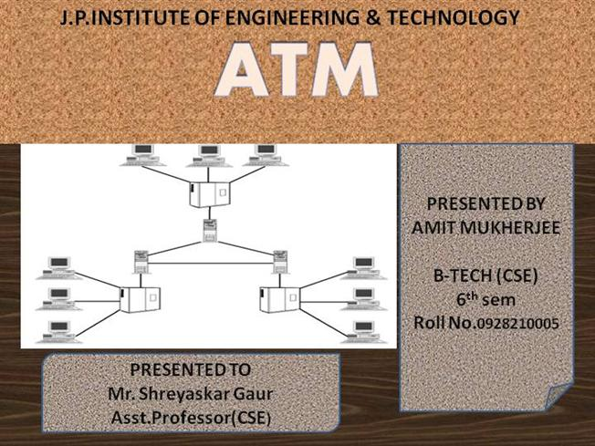 an overview of the asynchronous transfer mode atm and its widespread use in modern technology