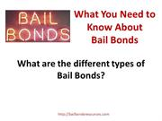 Bail Bond Resources
