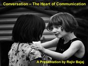 Conversation - Heart of Communication