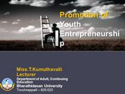 youth Self employment