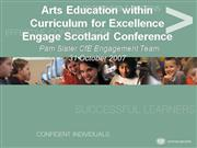 Arts Education within Curriculum for Exc...