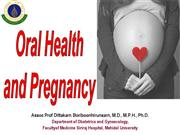 Oral health and pregnancy 2012