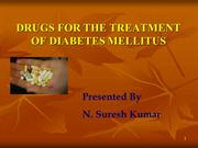 new ALTERED Anti-diabetics