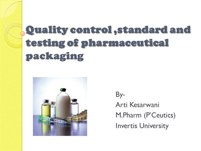 Pharmaceutical Packaging Containers |authorSTREAM