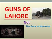 Guns of Lahore