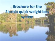Florida's Quick Weight loss