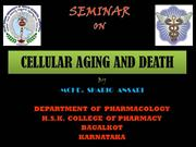 cellular aging and death