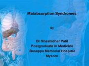 Malabsorption Syndromes