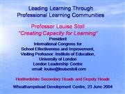 secondary headteachers 23June04