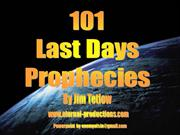 101 Last Days Prophecies