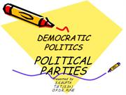 DEMOCRATIC- POLITICS