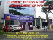 Current trends in the management of PVD
