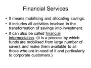 I Financial Services